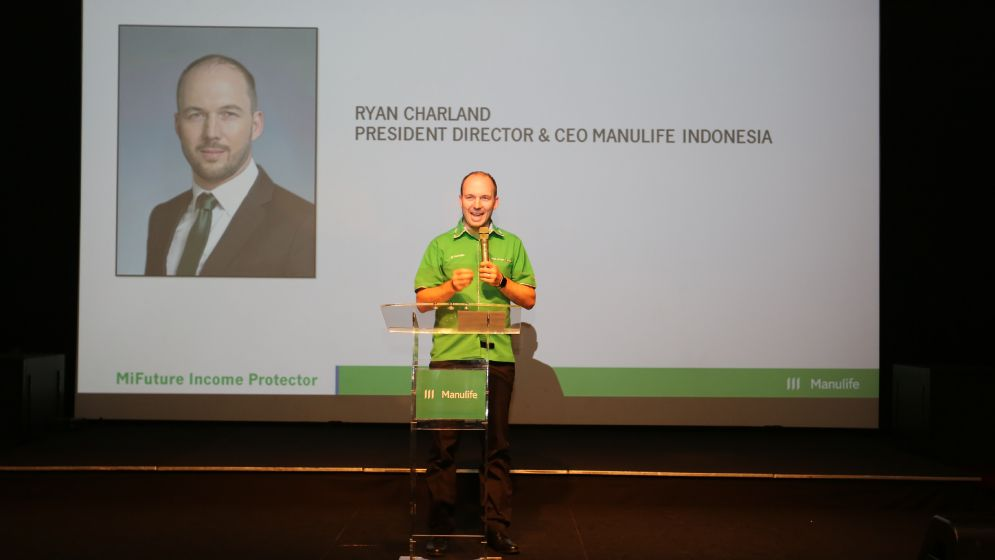 Ryan Charland, CEO Manulife Indonesia